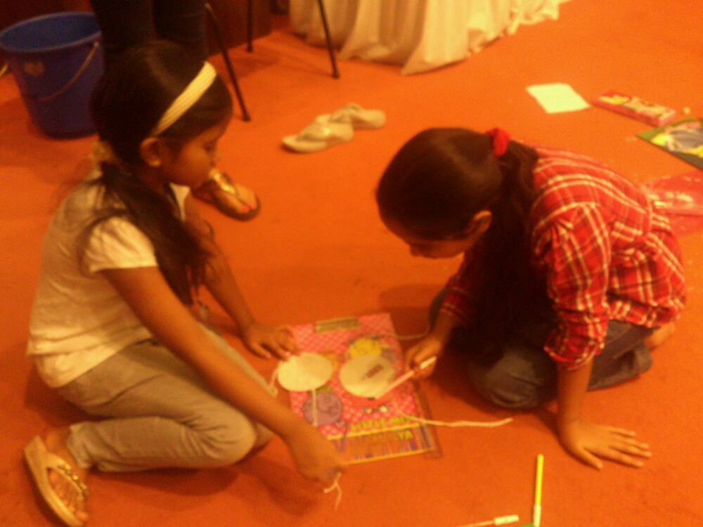 Thaumatrope- animation workshop in mumbai