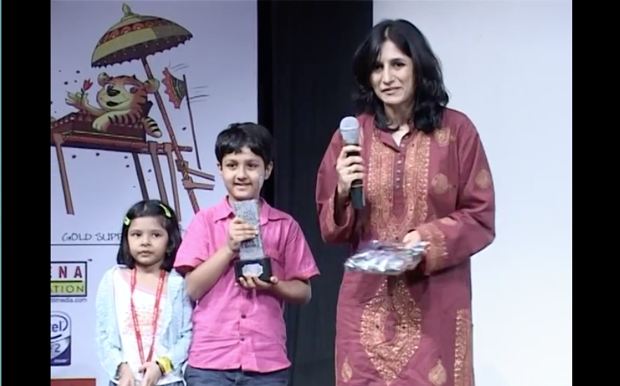 Awards won by children