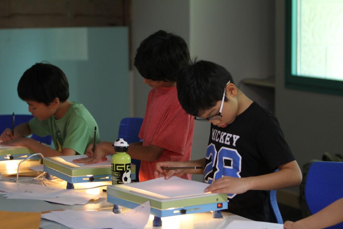 animation storytelling workshop for kids