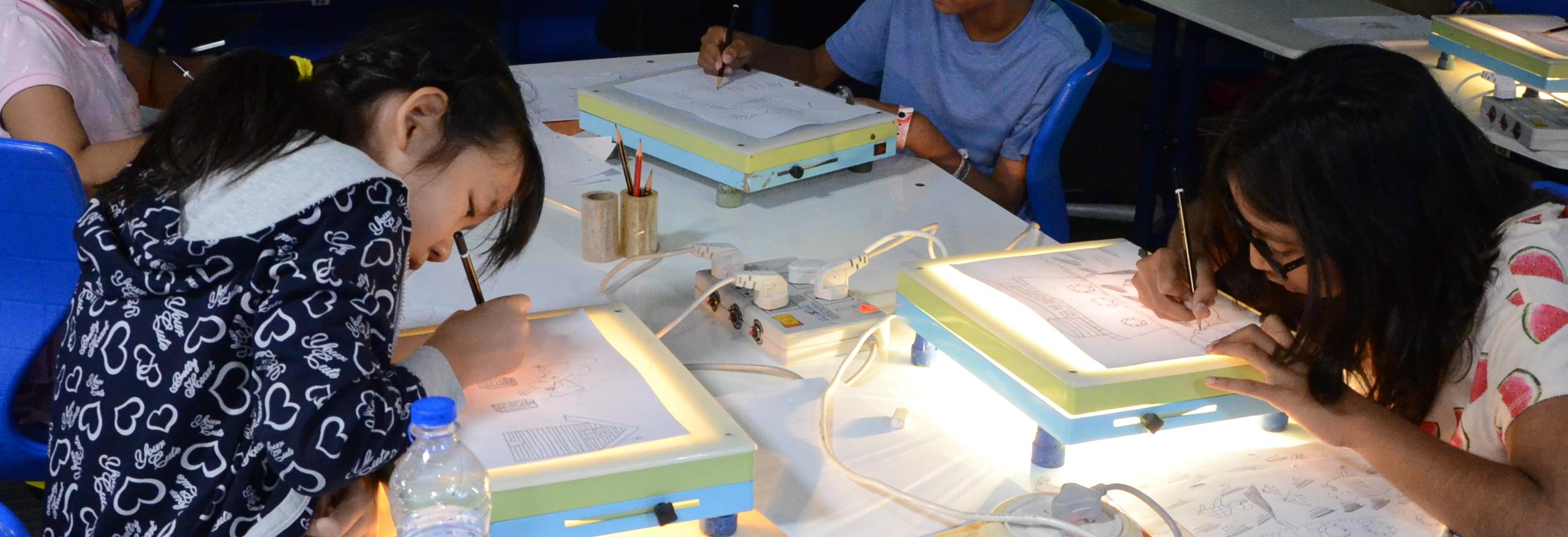 Summer cartoon film making workshop